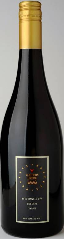 Reserve Hawkes Bay Syrah 2010 >SORRY, ALL GONE<