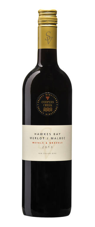"""Metals and Gravels"" SV Hawkes Bay  Merlot Malbec 2013>SORRY ALL GONE<"
