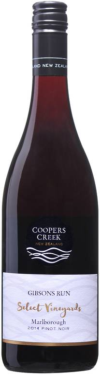 'Gibson's Run' SV Marlborough Pinot Noir 2014