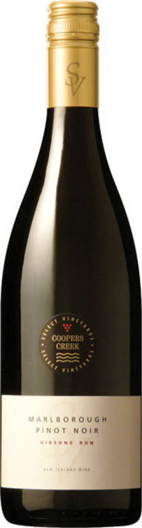 """Gibson's Run"" SV Marlborough Pinot Noir 2013"